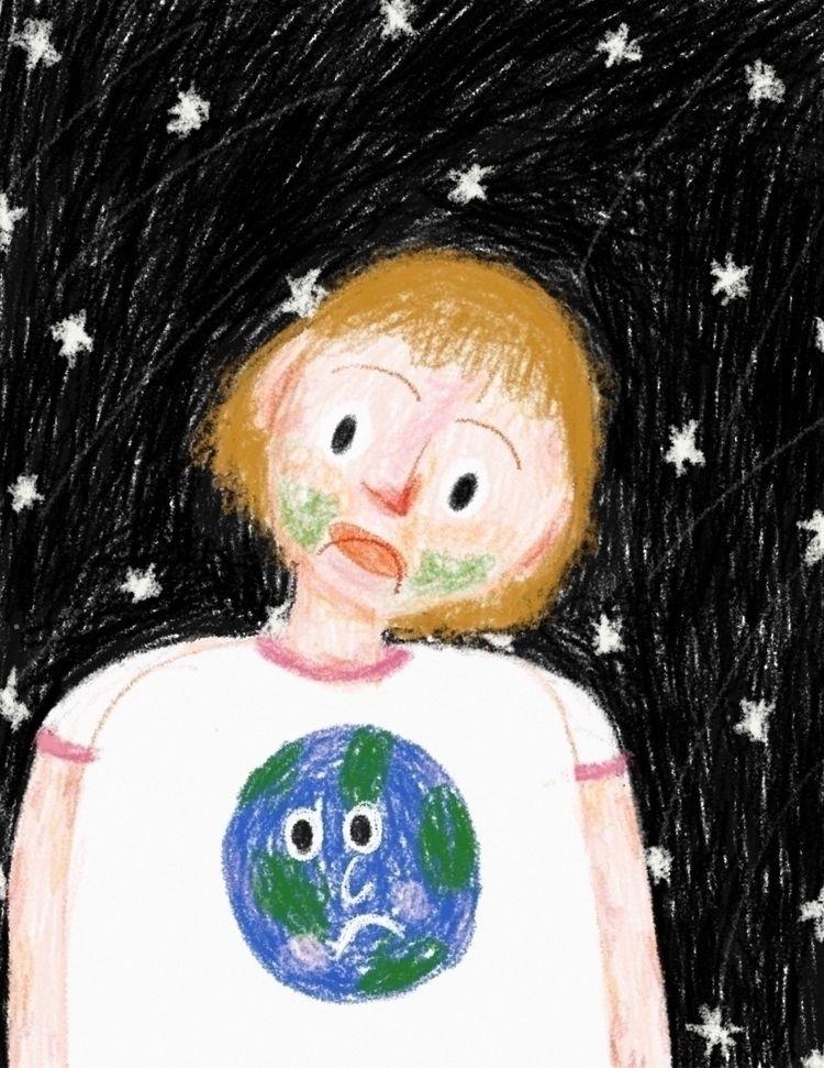 Goodnight Earth (2021 - peony_orchidd | ello