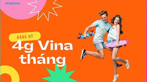 Đăng ký gói 4g Vinaphone Tháng  - hi4gvina   ello