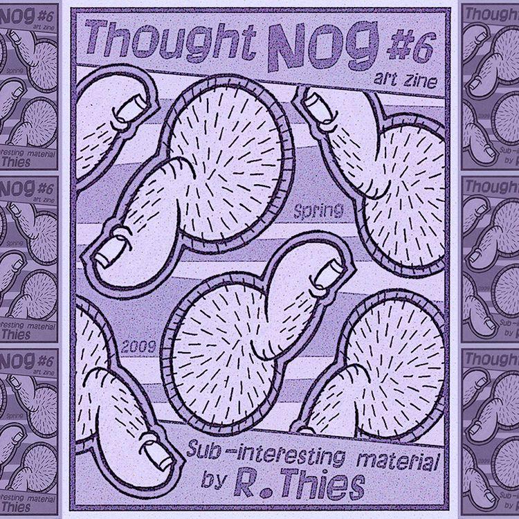 Thumbnut Invasion cover THOUGHT - rthies   ello