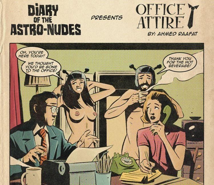 heard Diary Astro-nudes? comic  - bareoaks   ello