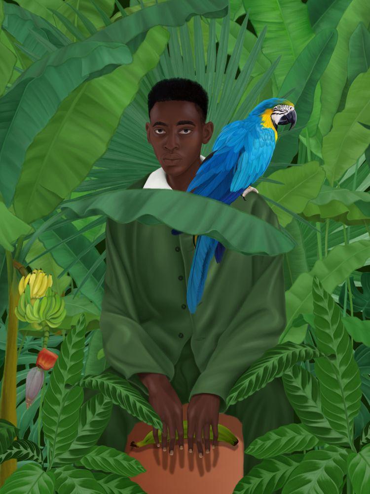 Wild Digital Illustration – ste - stefaniatejada | ello