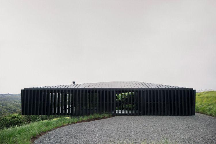 black concrete wood volume perc - gessato | ello