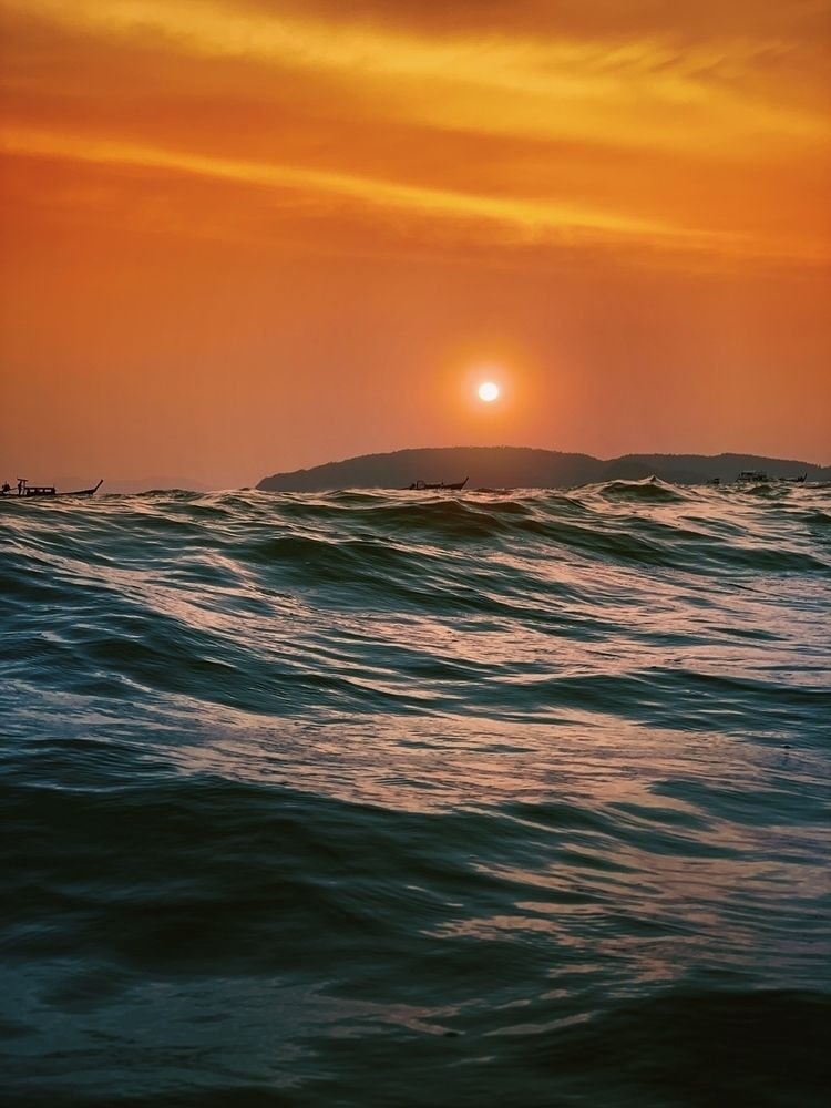 Krabi Sunset - Thailand, sunset - riazhassan | ello