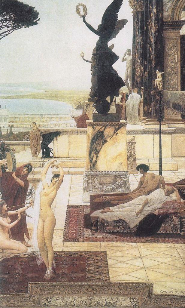 Gustav Klimt, Theater Taormina - geeksusie | ello