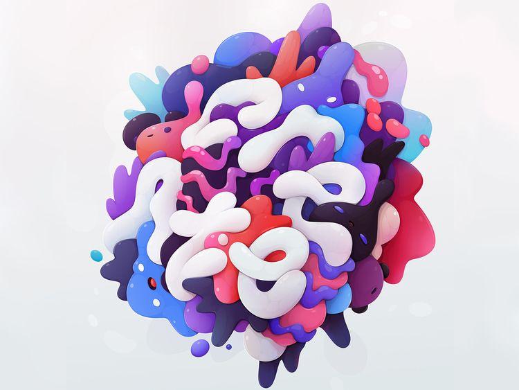 Create, lettering Affinity Desi - zuttoworld   ello