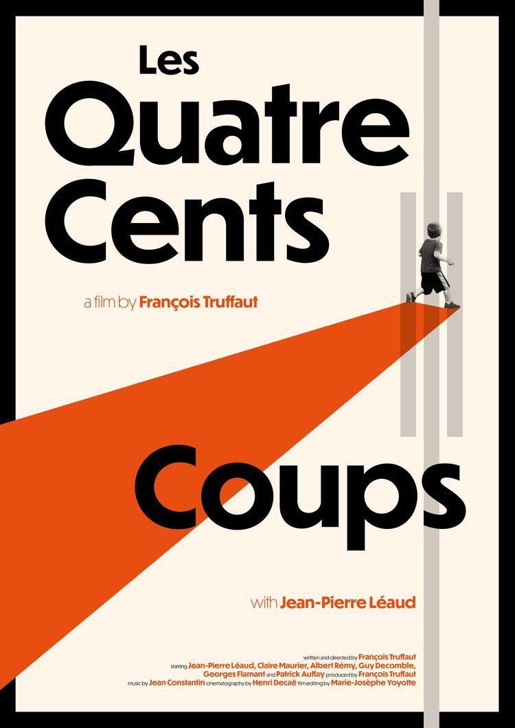 Film poster Les Quatre Cents Co - mathieuvancamp | ello
