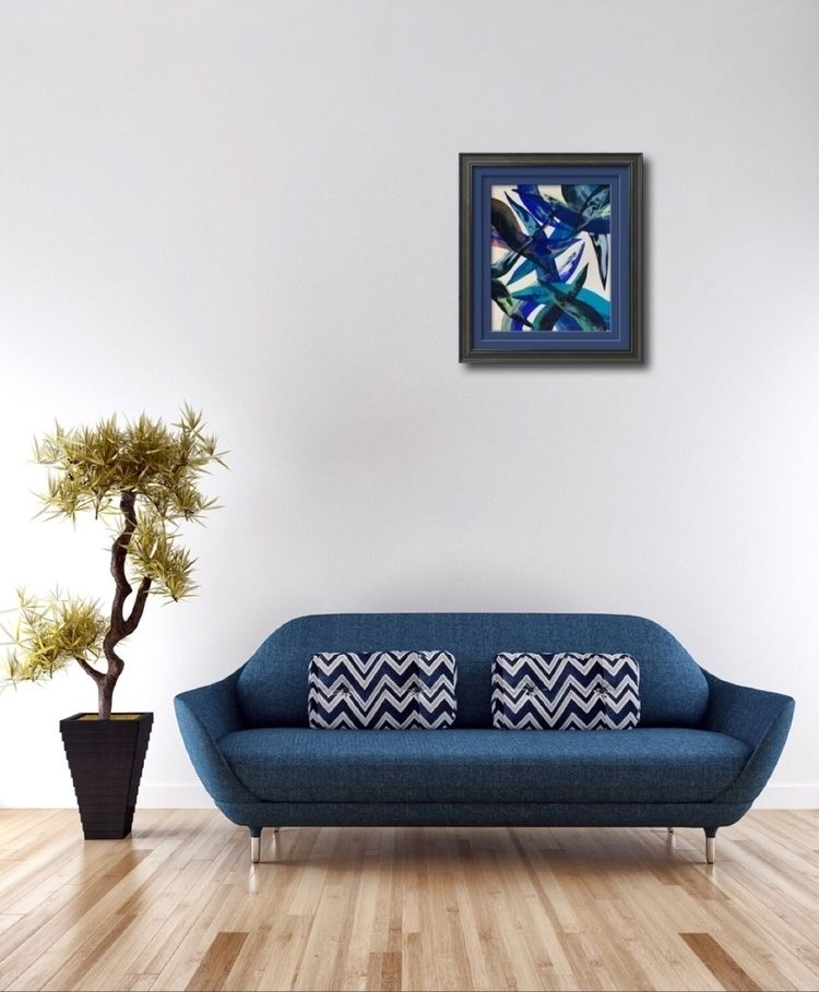 Japan Abstract Style Blue Truth - taichi_nagayama | ello