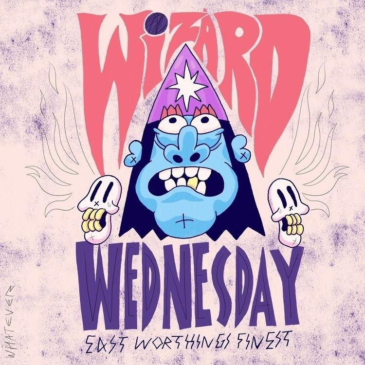 Wednesday - illustration, art, OC - eastworthingsfinest   ello