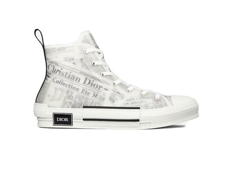Giày Dior B23 High Top Daniel A - duongstorecom   ello