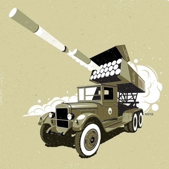 Smoking Kills - cigarette, truck - mario-maxter   ello