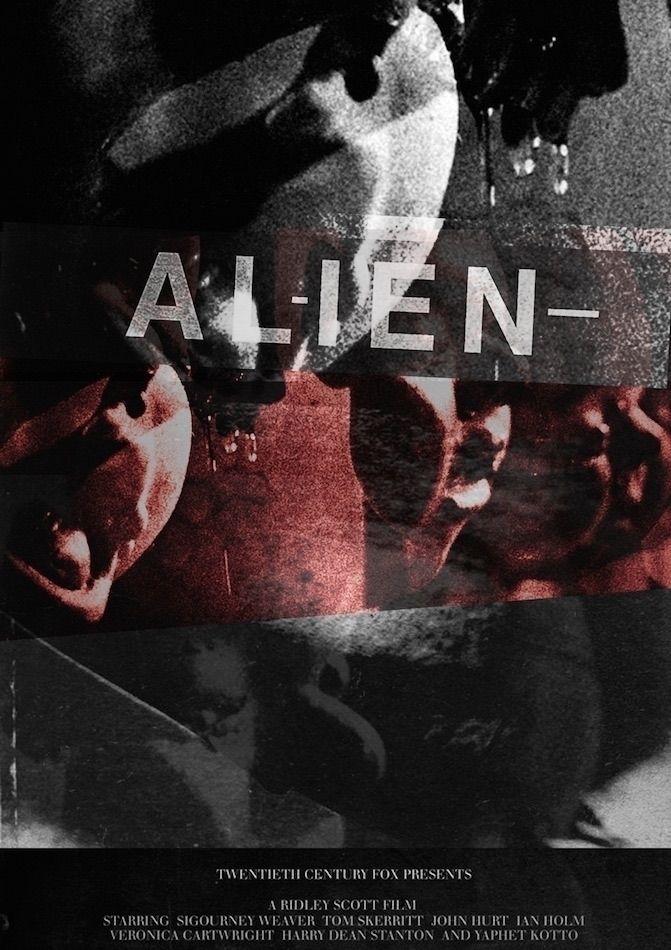 ALIEN FANART/REWORK - alien, ridleyscott - danieljohansson | ello