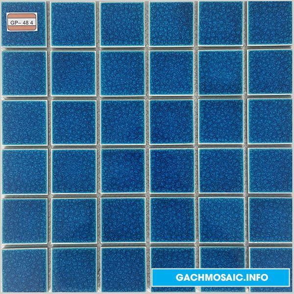 Mẫu gạch mosaic gốm GP - 48 4 N - gachmosaicinfo1   ello