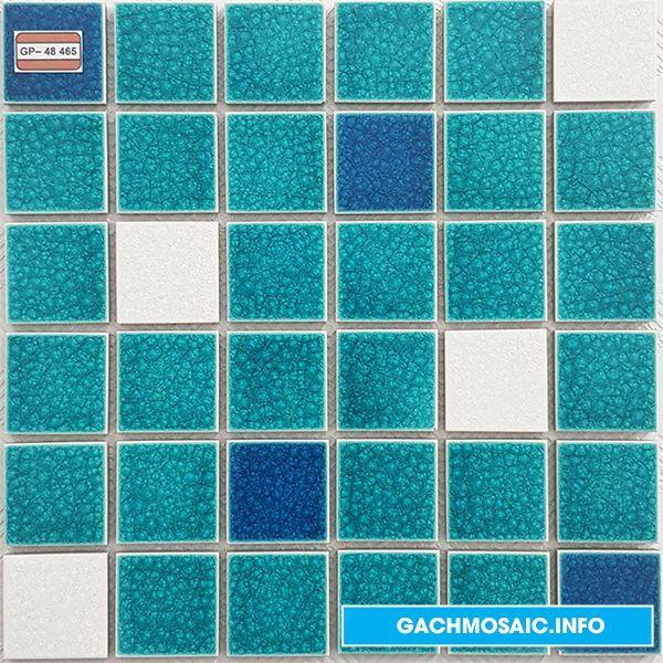 Mẫu gạch mosaic gốm GP- 48 465  - gachmosaicinfo1 | ello