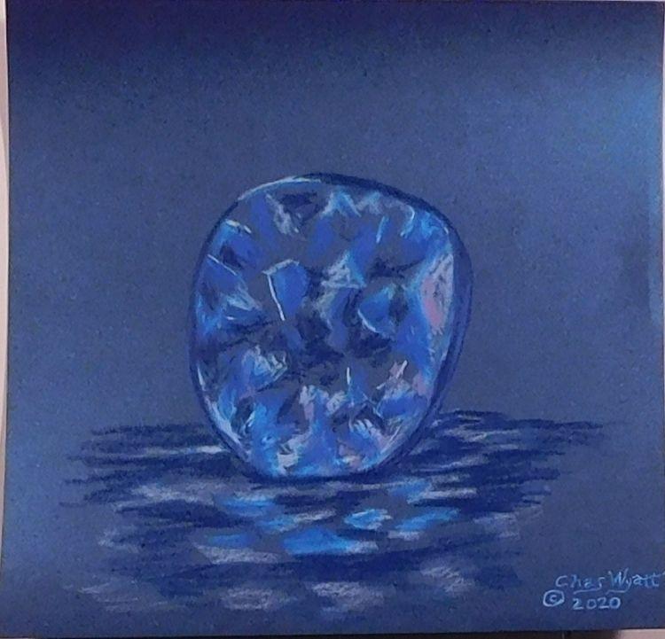 Blue Sapphire, 12 12, colored p - chaswyatt | ello
