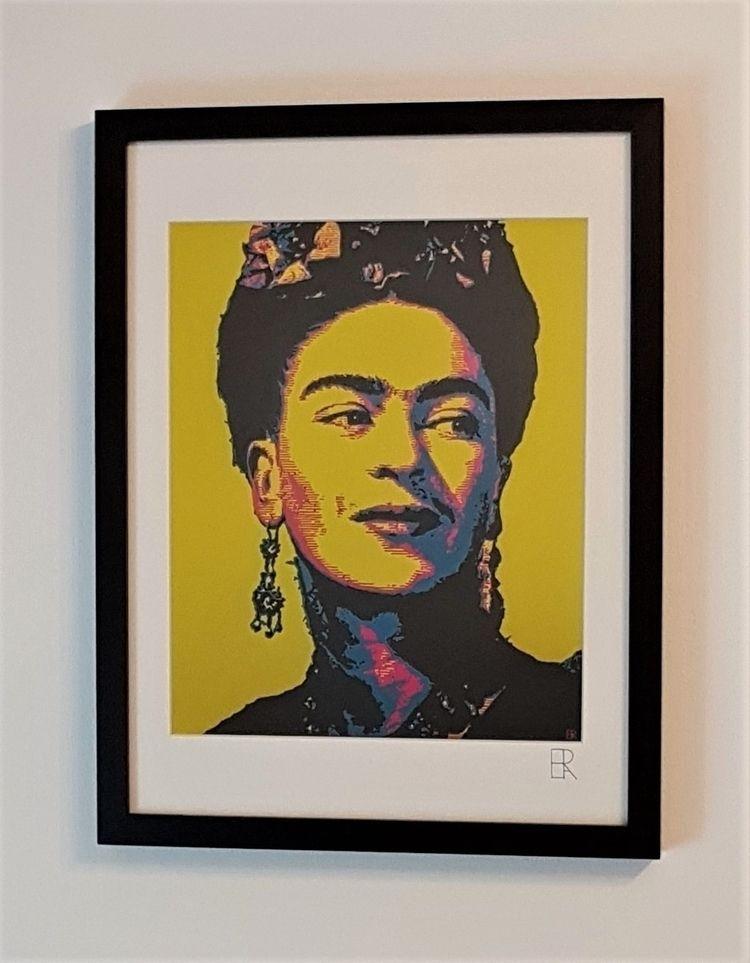 'Frida Pt.II' - Giclée print or - elizarockerart | ello