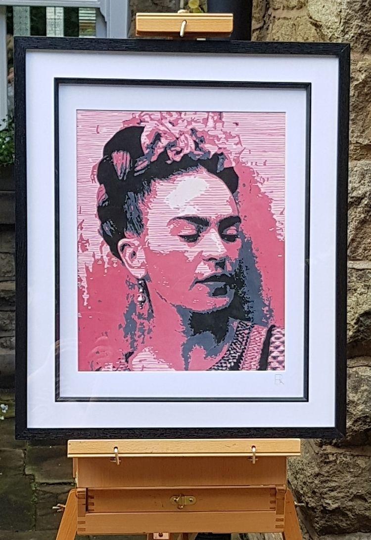 'Frida' Giclée print, original  - elizarockerart | ello