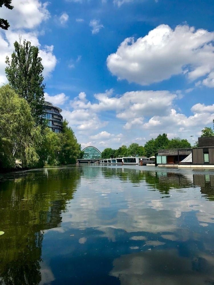 Hochwasserbassin Berliner Tor H - blueskipper | ello