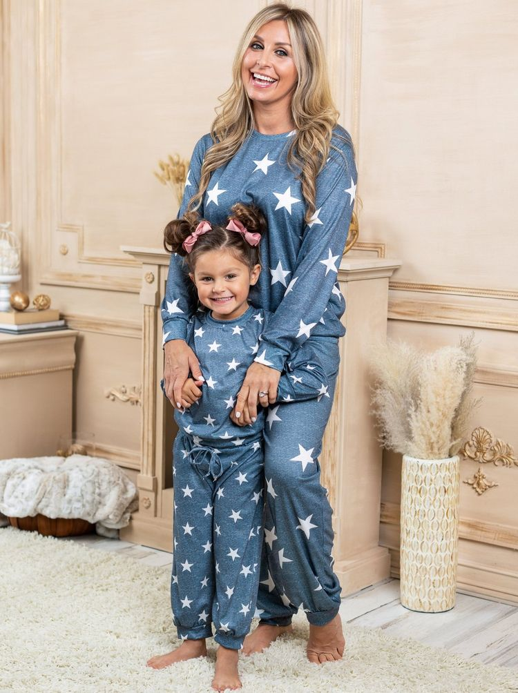 Mommy Star Loungewear Set show  - miabellegirls | ello