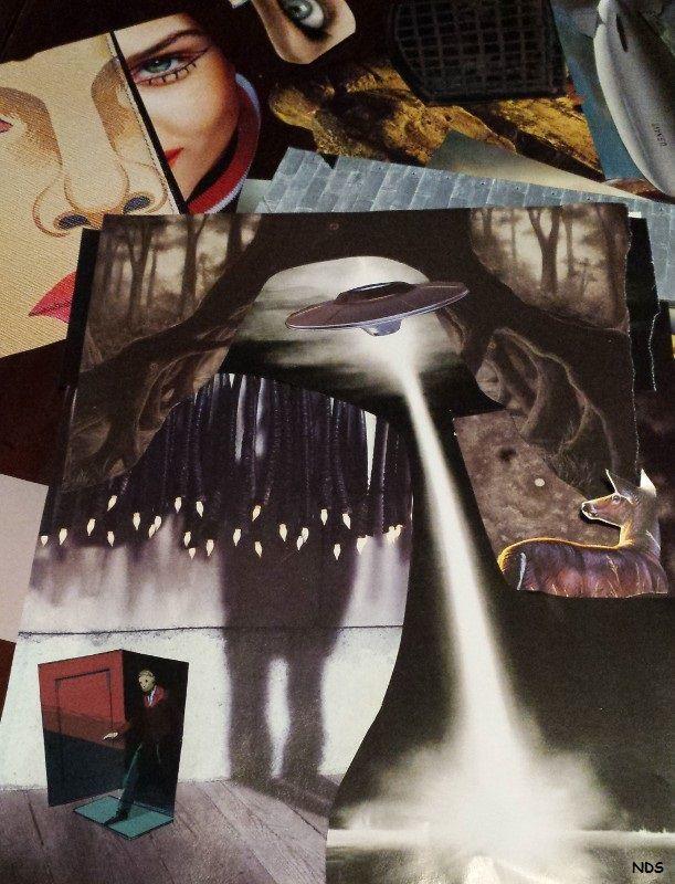 Twilight Zone Tabletop Collage - strangeworld | ello