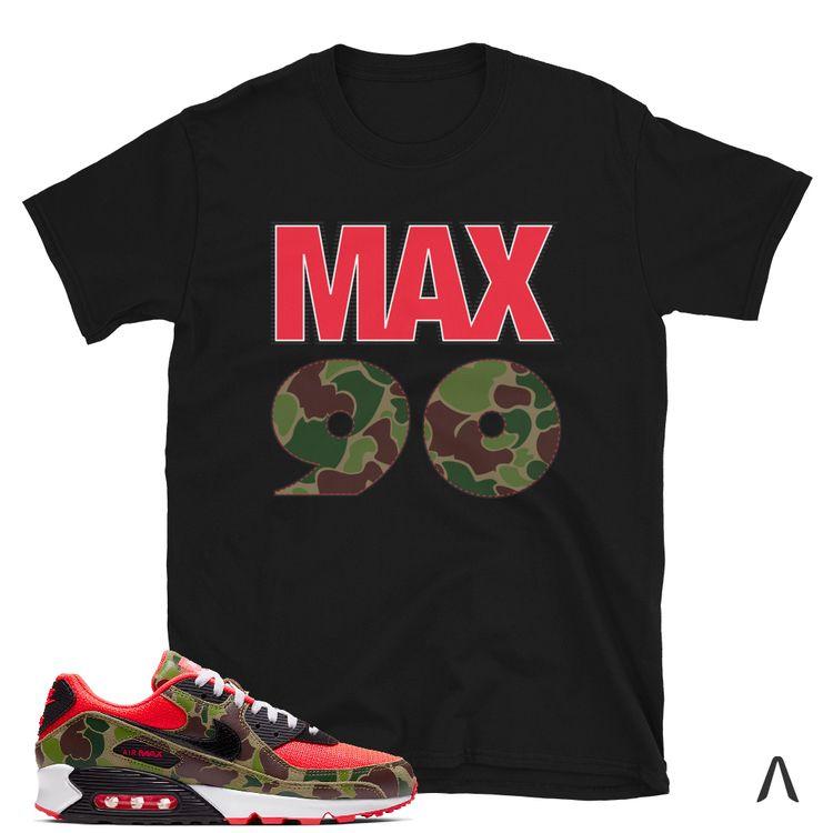 Shirt Match Air Max 90 Reverse  - kaatx   ello