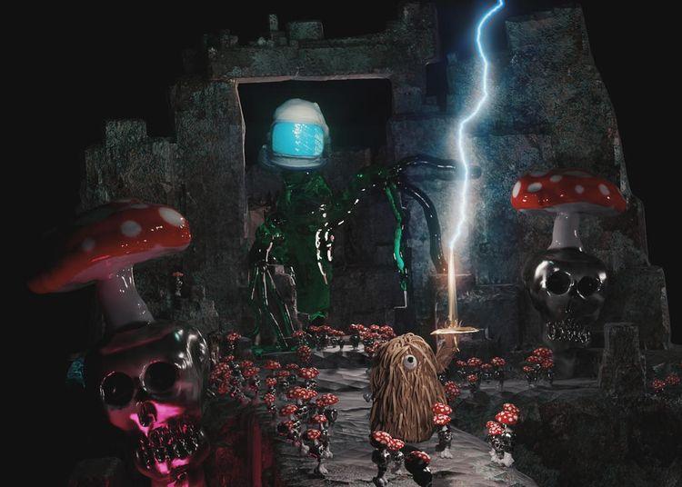 Mushroom dungeons blender - prorender - ironstrike | ello