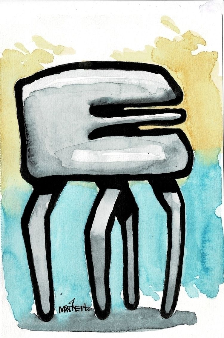 20111105 - Painting, 5x7, ink w - mmrtnt   ello