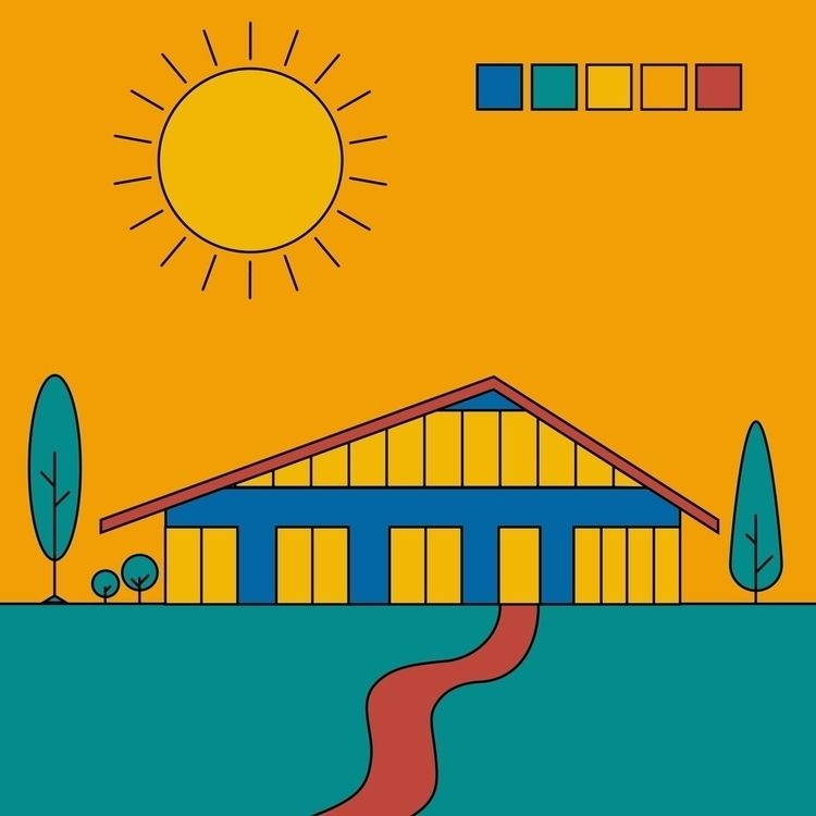 playing color - vector, architecture - ampedvoxel   ello