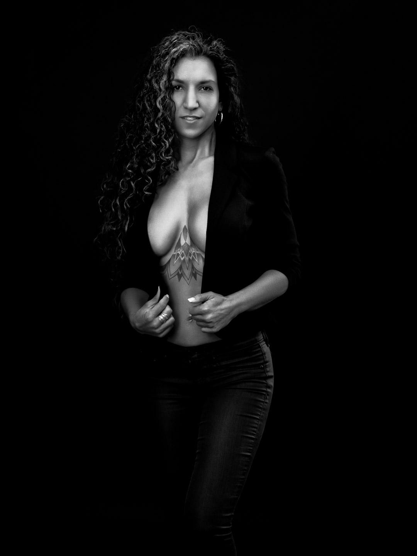 Black White - portrait, light, colors - nealbaileystudios   ello