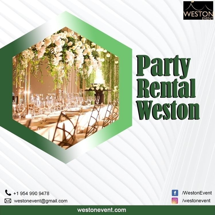 Weston Events family-owned oper - westonevent | ello