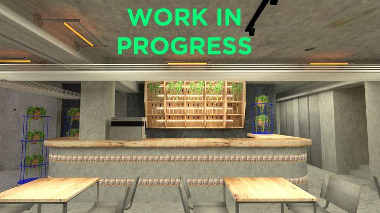 WORK PROGRESS - Bar/Café Selina - alejandro_bonilla | ello