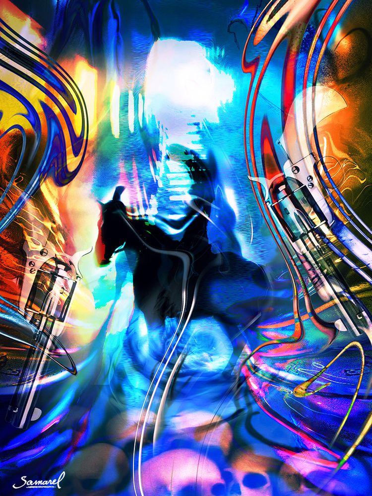 Dark Rider - Riding digital col - samarel   ello