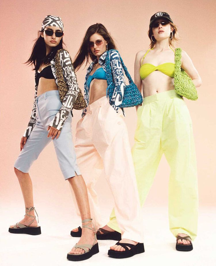 Y2K-Inspired High Summer Style  - thecoolhour   ello