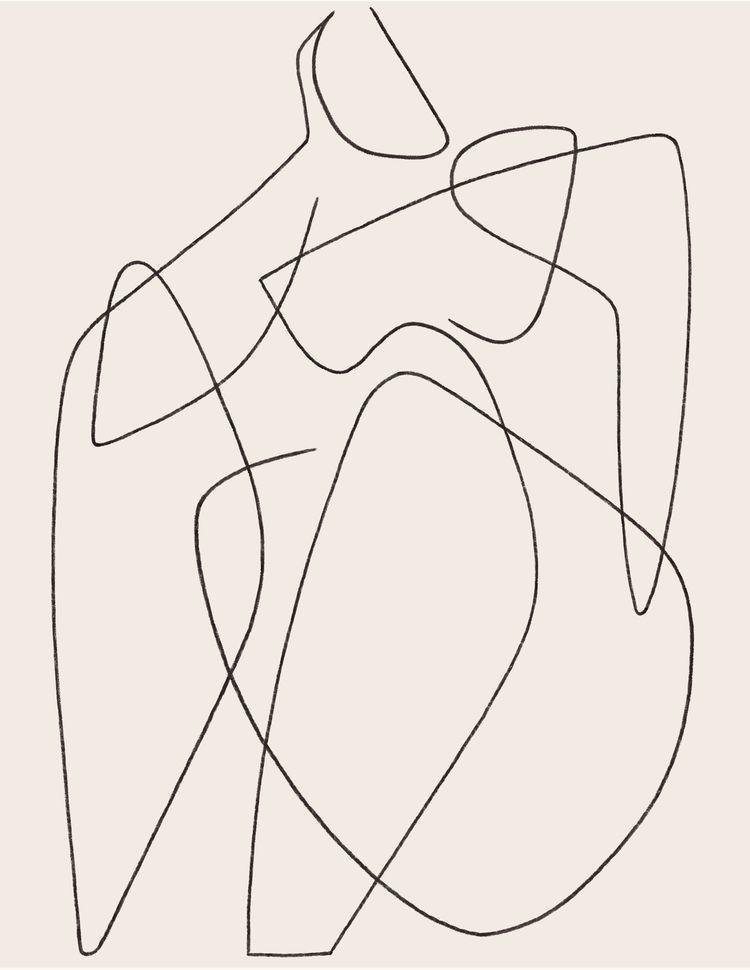 Moody - illustration, art, drawing - kitagar | ello