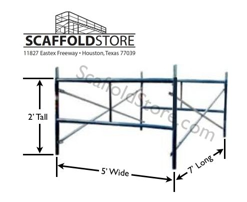 Shop Mason Frame Scaffold Set  - scaffoldstore   ello