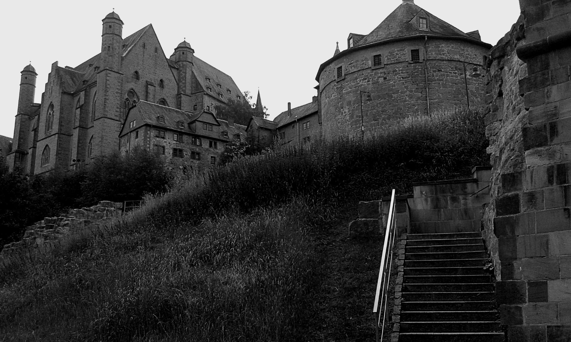 Rear view Marburger Schloss / M - frederickfullerton | ello