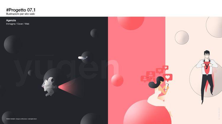 PORTFOLIO 2020 / Illustrazione  - itemlab_designstudio | ello