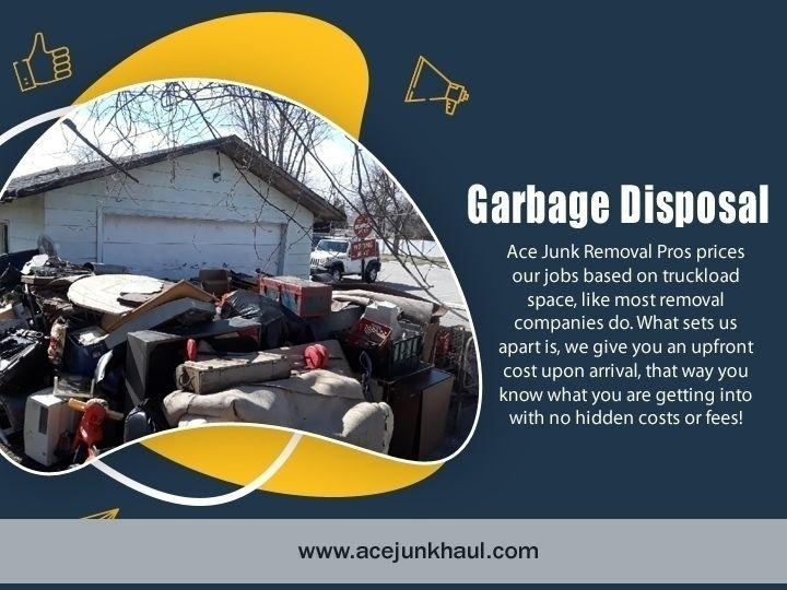 Garbage Disposal Naperville ben - acejunkhaul | ello