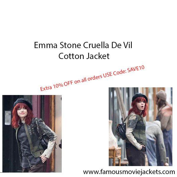 Emma Stone Cruella De Vil Cotto - riscillalauryn91 | ello