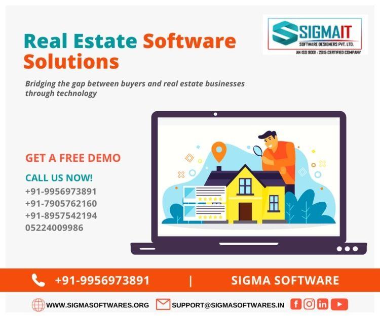 Real Estate Software Solutions  - sigmaitsoftwares | ello