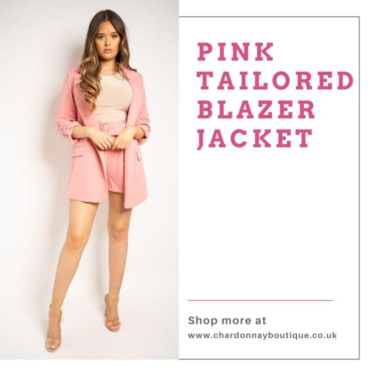 Pink jacket pockets featuring f - chardonnayboutique   ello
