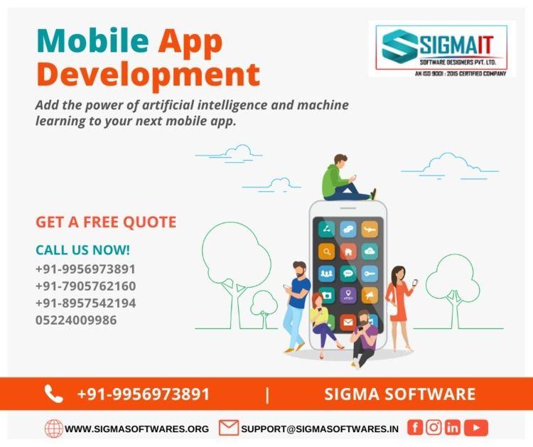 Mobile App Development India un - sigmaitsoftwares | ello