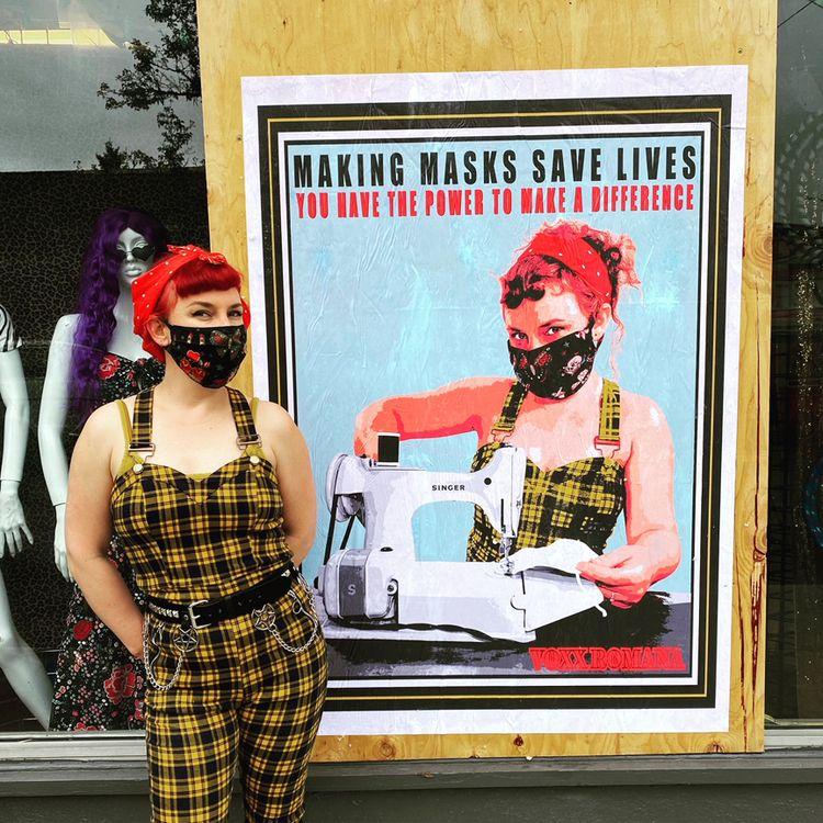 Portland street art 2021. beaut - voxxromana | ello