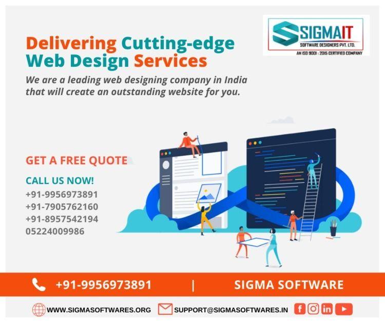 Delivering Cutting-edge Web Des - sigmaitsoftwares | ello