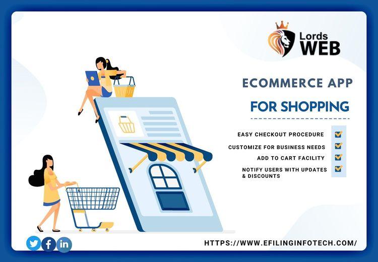 eCommerce web development fines - lordsweb | ello
