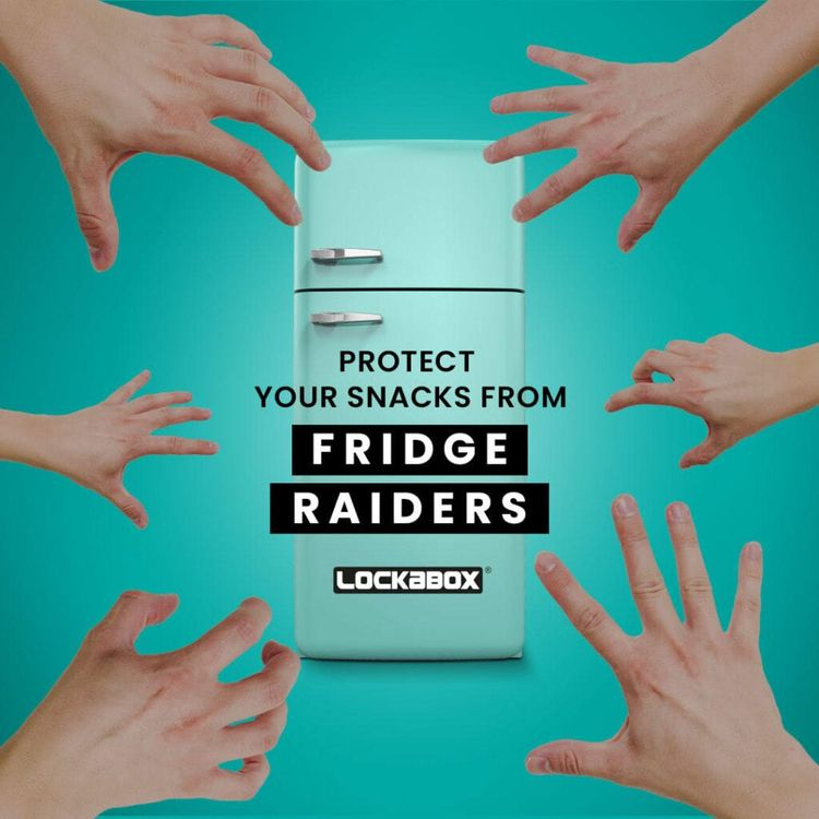 Stop fridge raiders concern foo - lockabox | ello