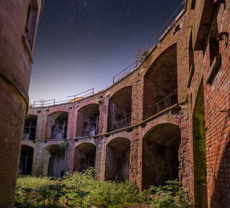 Part Stack Rock Fort, photograp - forgottenheritage | ello