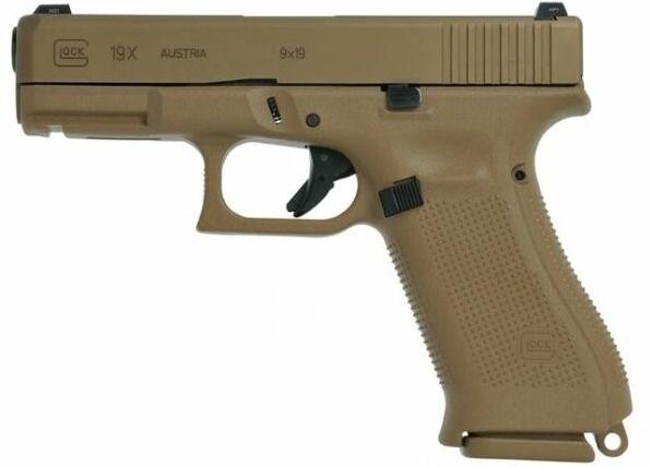 Pistole 9mm Luger Glock 19X Coy - kgarms   ello