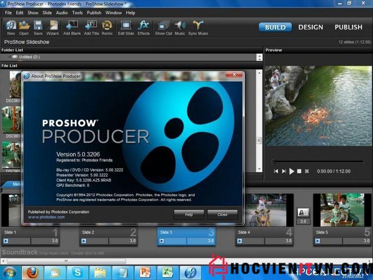 Download proshow producer miễn  - hocvienitvn | ello