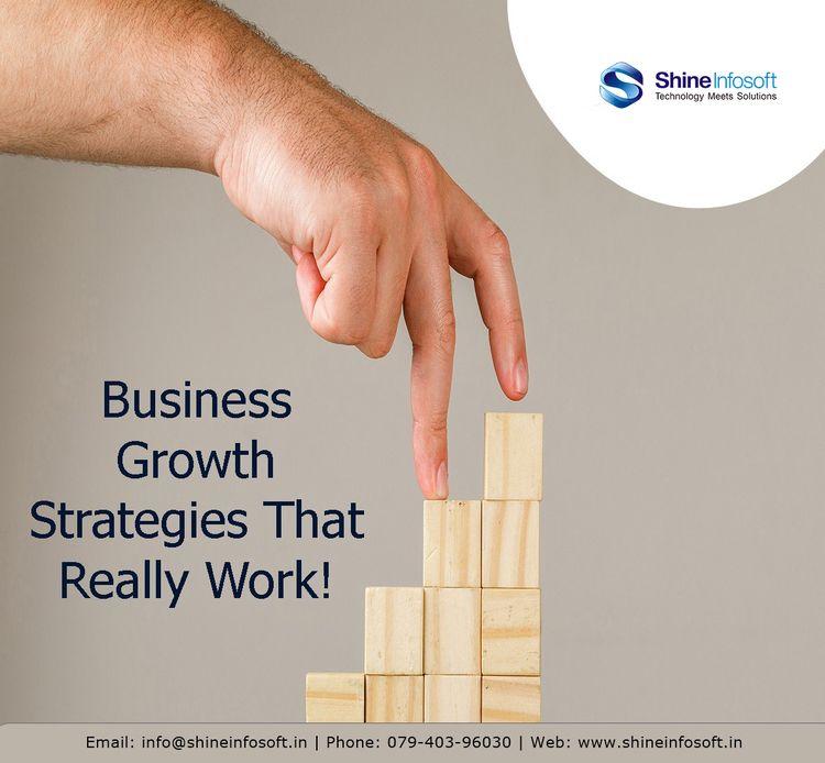 Business Growth Strategies Work - shineinfosoftuk | ello
