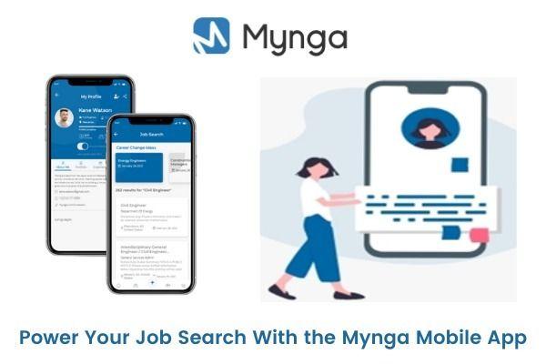 Power Job Search Mynga Mobile A - myngaapp | ello